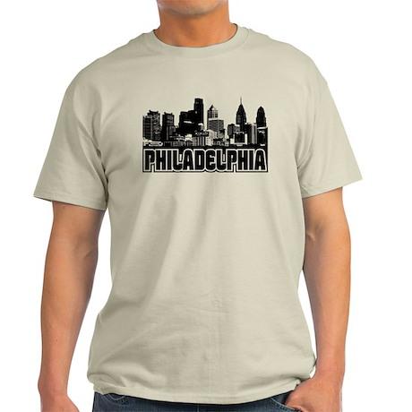 Philadelphia Skyline Light T-Shirt