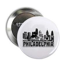 "Philadelphia Skyline 2.25"" Button"