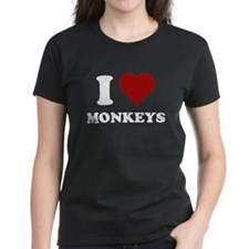 I heart monkeys Tee
