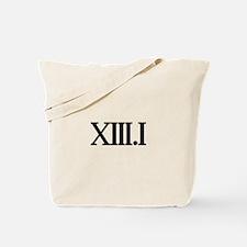 13.1 HALF MARATHON SHIRT T SH Tote Bag