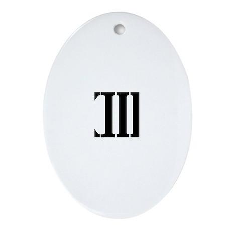13.1 HALF MARATHON SHIRT T SH Ornament (Oval)