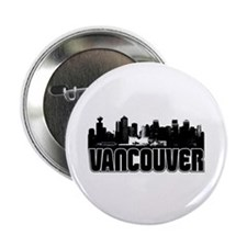 "Vancouver Skyline 2.25"" Button"