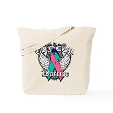 Thyroid Cancer Warrior Tote Bag