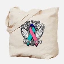 Thyroid Cancer Warrior Tote Bag