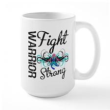 Fight Strong Thyroid Cancer Mug