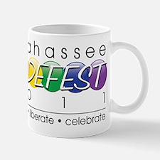 Tallahassee PRIDEFEST 2011 Mug