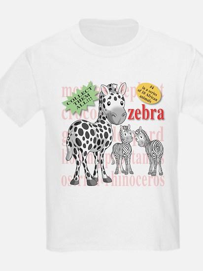 zebra Kids T-Shirt