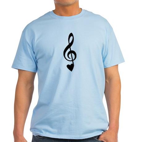 Treble Love Note Light T-Shirt
