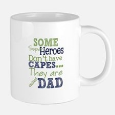Dad Super Heroes 20 oz Ceramic Mega Mug