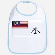 Malaysia Naval Ensign Bib