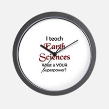 Funny Geography teacher Wall Clock