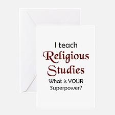 Cute Religious studies Greeting Card