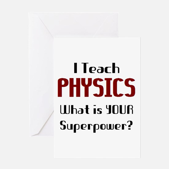 Unique Physics Greeting Card