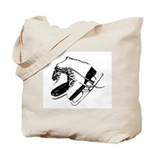 Vintage Skate Stamp Tote Bag