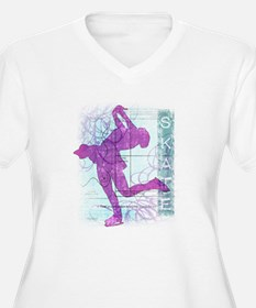 Figure Skating Collage T-Shirt