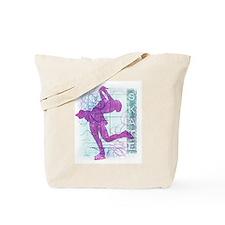 Figure Skating Collage Tote Bag