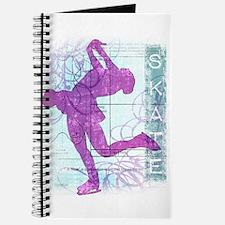 Figure Skating Collage Journal