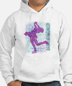 Figure Skating Collage Jumper Hoody