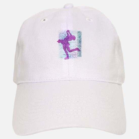 Figure Skating Collage Baseball Baseball Cap