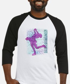 Figure Skating Collage Baseball Jersey