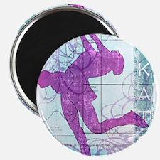 "Figure Skating Collage 2.25"" Magnet (10 pack)"