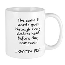 Skating Gotta Pee Mug