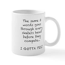 Skating Gotta Pee Small Mug