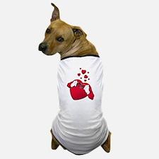 open heart love Dog T-Shirt