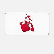 open heart love Banner