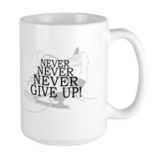 Figure Skating Never Give Up Mug