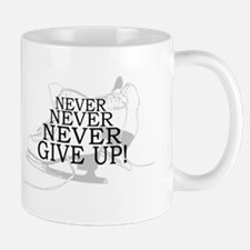 Figure Skating Never Give Up Mug