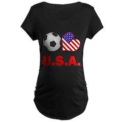 U.S.A. Soccer Fan T-Shirt