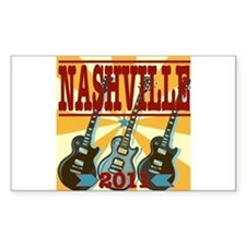 Nashville 2011 Hatch-Style Decal