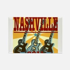Nashville 2011 Hatch-Style Rectangle Magnet