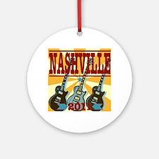 Nashville 2011 Hatch-Style Ornament (Round)