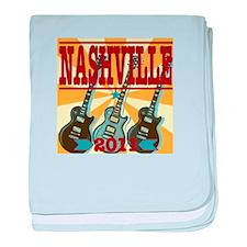 Nashville 2011 Hatch-Style baby blanket