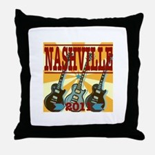 Nashville 2011 Hatch-Style Throw Pillow