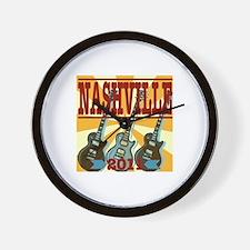 Nashville 2011 Hatch-Style Wall Clock