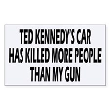 Kennedy's Car Rectangle Decal