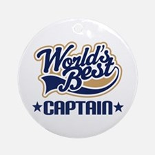 Captain Ornament (Round)