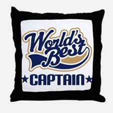 Captain Throw Pillow