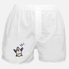 Finland Penguin Boxer Shorts
