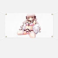 Underwear Anime Girl Banner