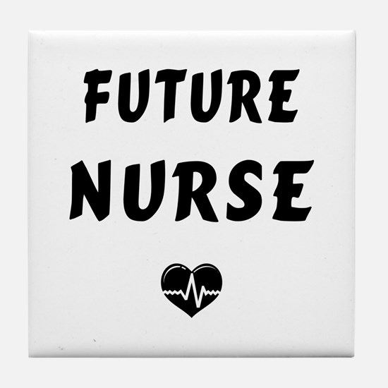 Future Nurse Tile Coaster