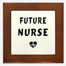 Future Nurse Framed Tile
