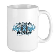 Prostate Cancer Faith Inspire Mug