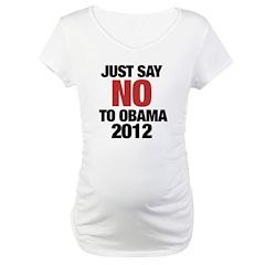 No Obama in 2012 Shirt