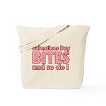 Valentine's Day Bites Tote Bag