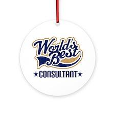 Consultant Ornament (Round)