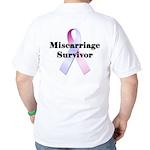 Miscarriage survivor Golf Shirt